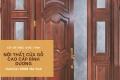 Nội thất sang trọng, đẳng cấp với mẫu cửa gỗ đẹp hút hồn tại Cơ sở mộc Đức Tính