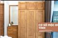 Thiết kế phòng ngủ đơn giản đẹp mắt với mẫu tủ quần áo gỗ Bình Dương - Đồ Gỗ Mộc Đức Tính