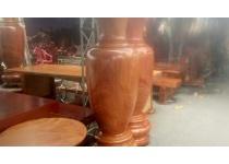 Cặp bình gỗ