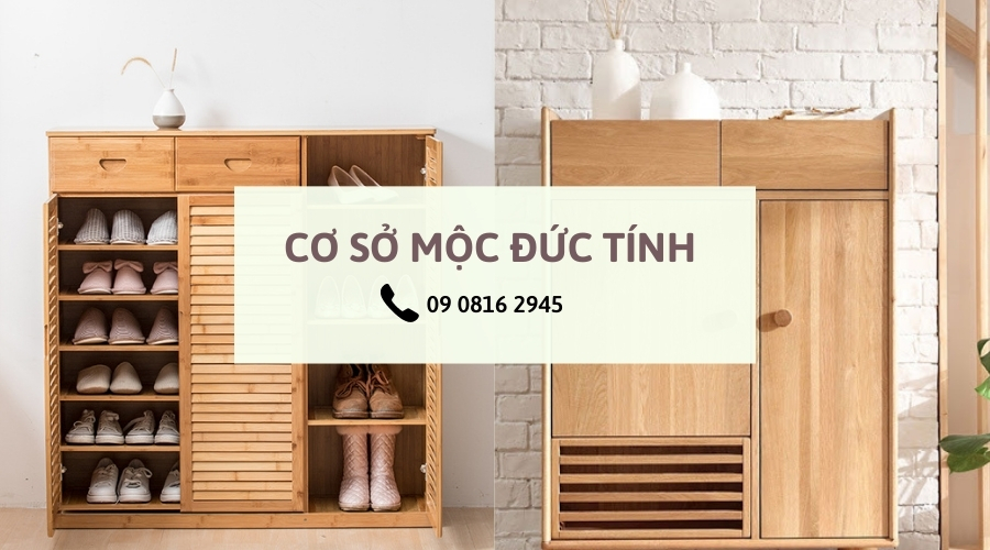 tủ giày gỗ tphcm