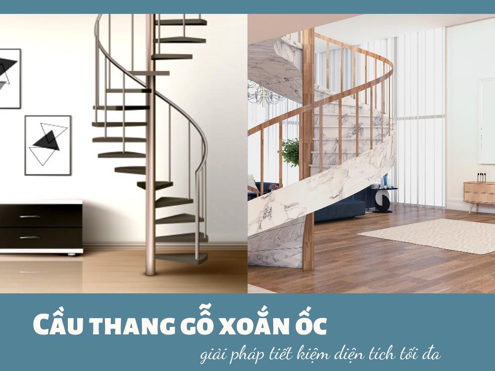 Cầu thang gỗ giá rẻ