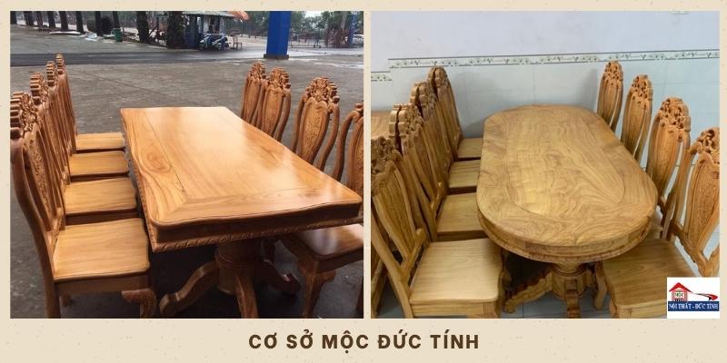bàn ăn gỗ giá rẻ tphcm